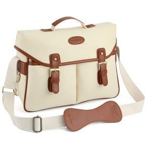 💖Kattee PU leather/canvas camera shoulder bag